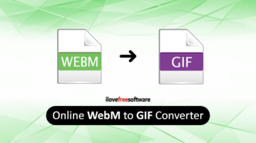 Online WebM to GIF converter