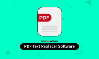 Replace Text in PDF with These 3 Free PDF Text Replacer Software