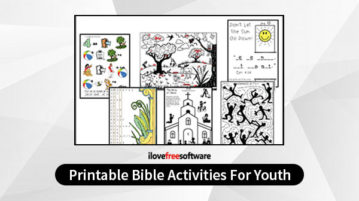 Printable Bible Activities For Youth