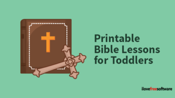 Printable Bible Lessons for Toddlers