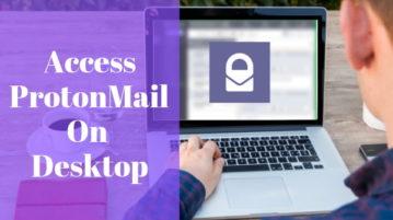 ProtonMail Desktop App