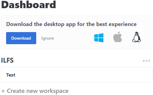Snapboard workspace