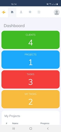 Sparque easy project management tool app