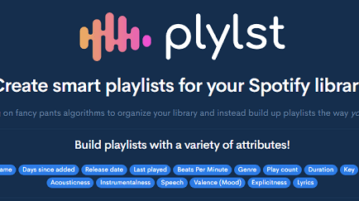 Spotify Playlist Creator to Create always updated dynamic playlist via rules