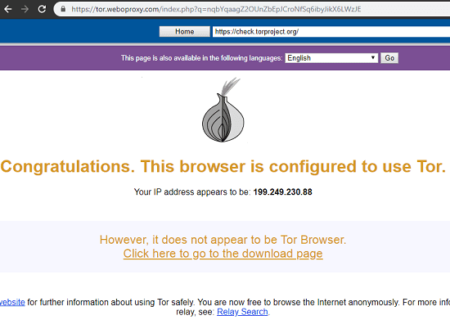Tor Based Online Proxy to Bypass Geo restrictions on Websites Free
