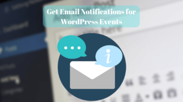 Wordpress Notifications Plugin