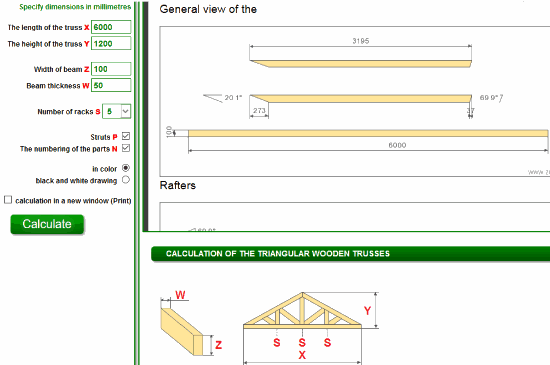 Zhitov- calculation of the wooden roof trusses