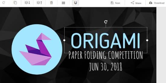 create Facebook event cover online