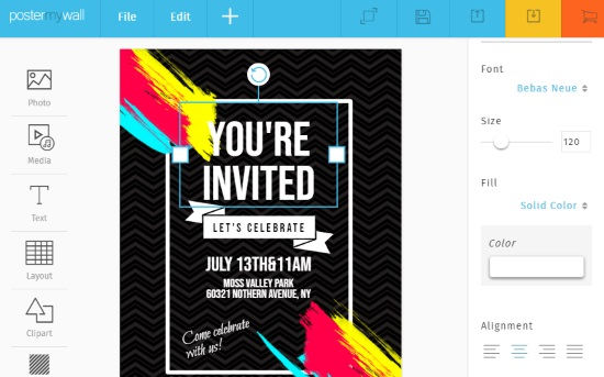 create invitation cards online
