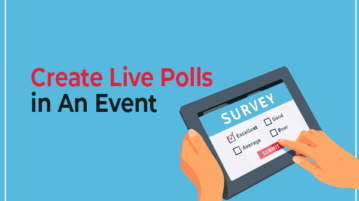 create live polls in an event