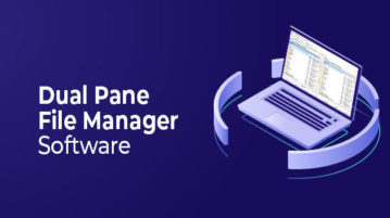 dual pane file manager software