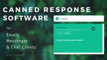 Free Canned Response Software for Emails, Messengers, Chat Clients