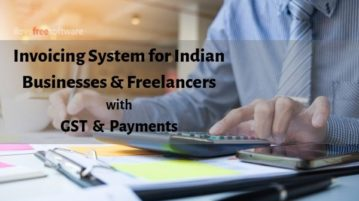 Free Online Invoicing System for Indian Businesses with GST, Payment Support