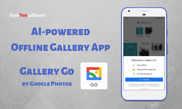 AI-Powered Lightweight Gallery App by Google: Gallery Go