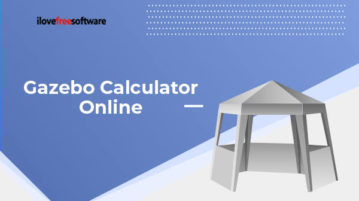 gazebo calculator online