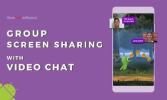 Free Group Screen Sharing Apps with Video Chat for Android