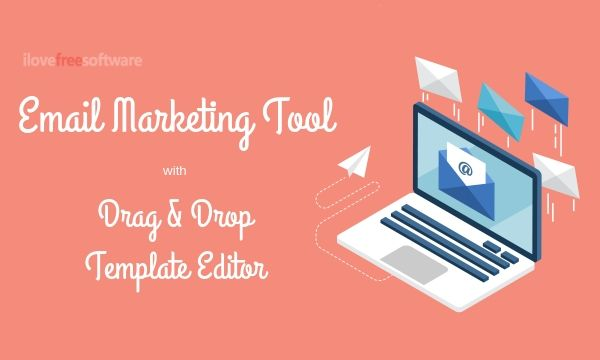 Free Email Marketing Tool from HubSpot with Drag and Drop Template Builder