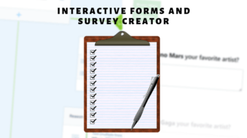 interactive forms and survey creator