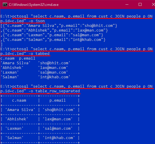 octosql data joining output