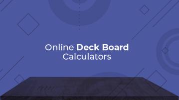 online deck board calculators
