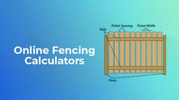online fencing calculators