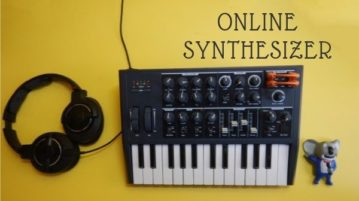 5 Free Online Audio Synthesizers to Play Various Music Instruments