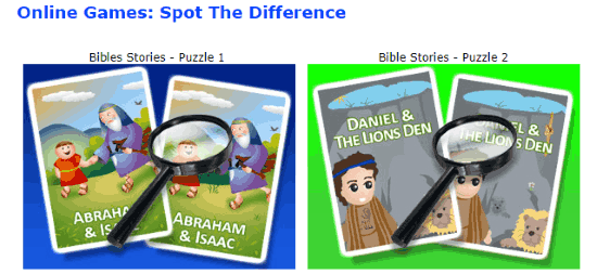 play bible games online