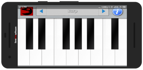 play burp soundboard with this Android app