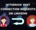 How to Automatically Withdraw Sent Connection Requests on LinkedIn?