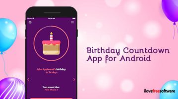 Birthday Countdown App for Android