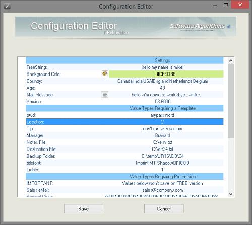 ConfigurationFile