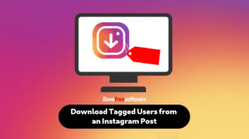 Download Tagged Users from instagram in Excel