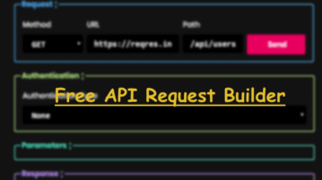 Free Open Source Online API Request Builder