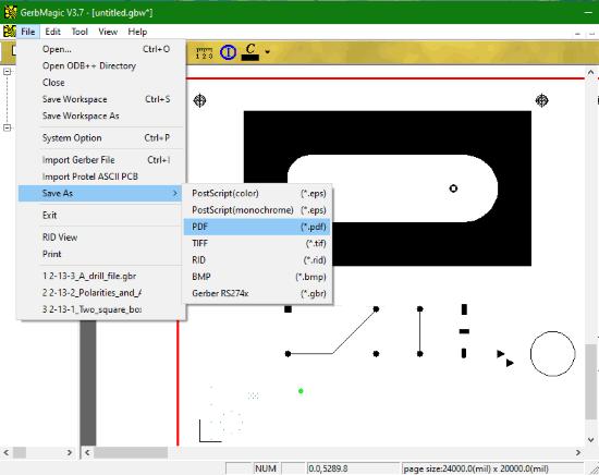 GerbMagic- interface