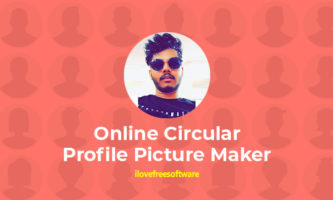 10 Online Circular Profile Picture Maker for Social Media Profiles