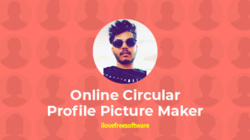 Online Circular Profile Picture Maker