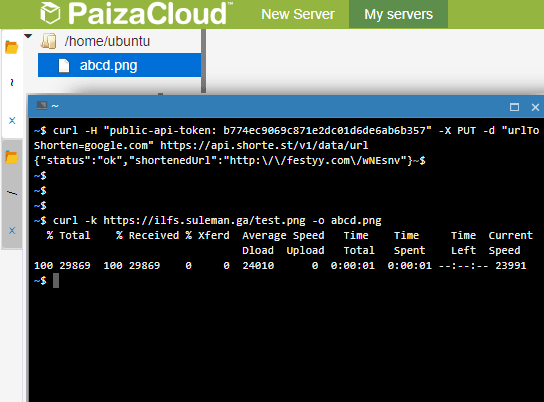 Paiza Cloud in action
