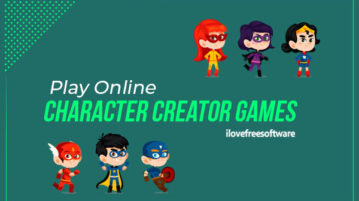 Play Online Character Creator Games