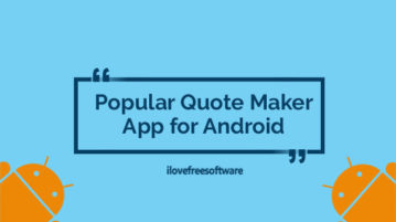 Popular Quote Maker App for Android