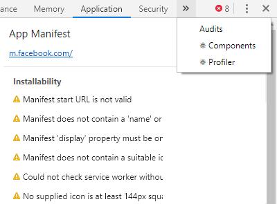 React Developer Tools in Chrome