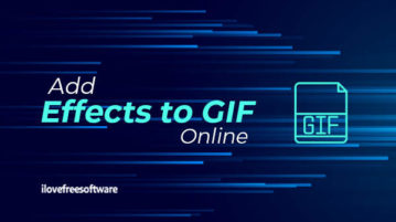 add effects to GIF online