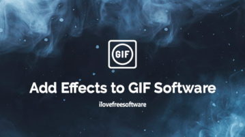 add effects to gif software