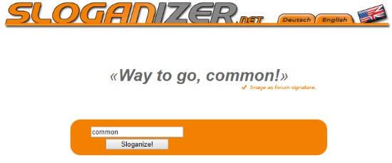 advertising slogan generator