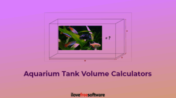 aquarium tank volume calculators