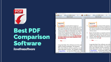 best pdf comparison software