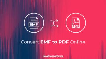 convert emf to pdf online