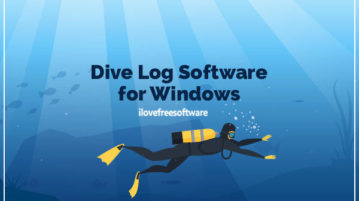 dive log software for windows
