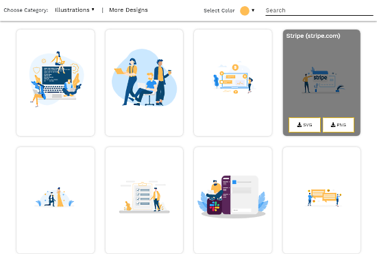 download customizable illustrations