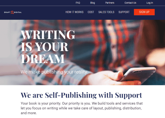 Online Platforms to Self Publish Your Book draft2digitals