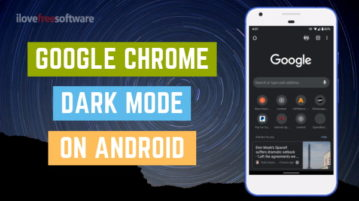 How to enable Google Chrome Dark Mode on Android?